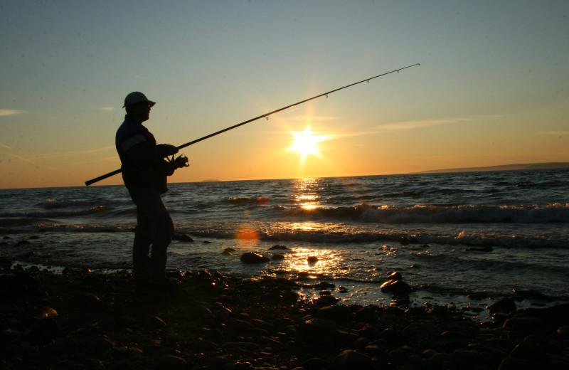 Fishing near Lake Michigan Reunion & Retreat.