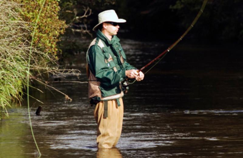 Fishing at Lolo Lodge