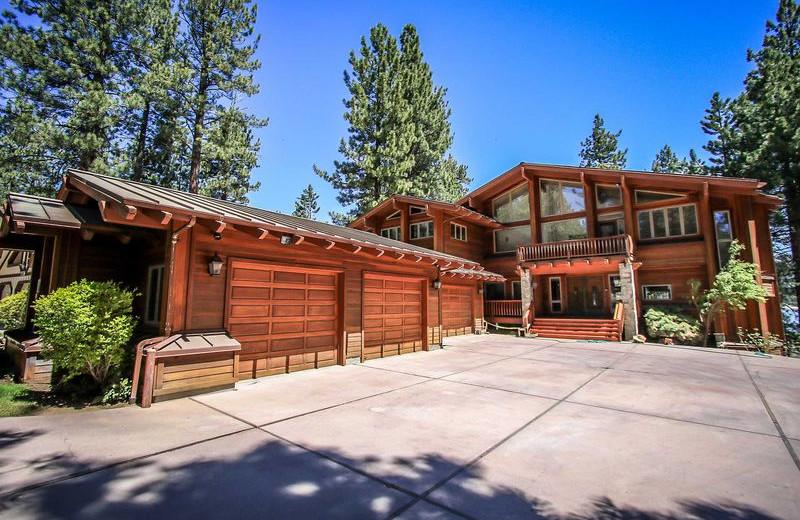 Rental exterior view of Big Bear Vacations.