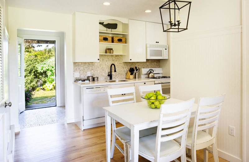 Guest kitchen at Winnetu Oceanside Resort.