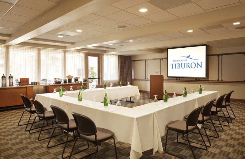 Conference room at Tiburon Lodge and Conference Center.