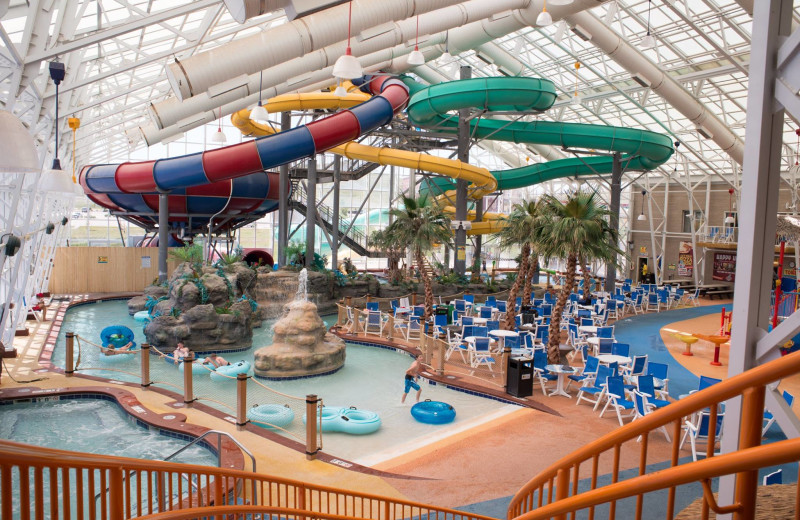 Water park at WaTiki Indoor Waterpark Resort.