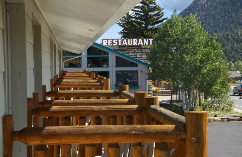 Restaurant next door at Alpine Trail Ridge Inn.