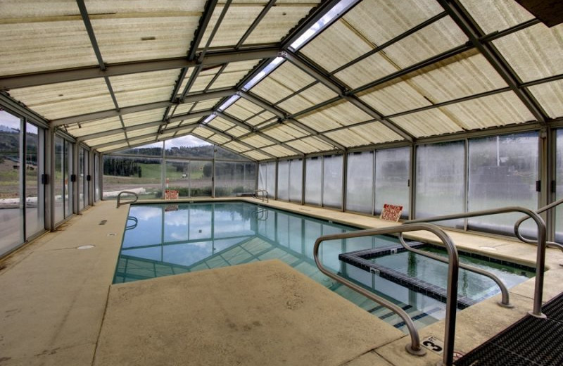 Rental pool at Family Time Vacation Rentals.