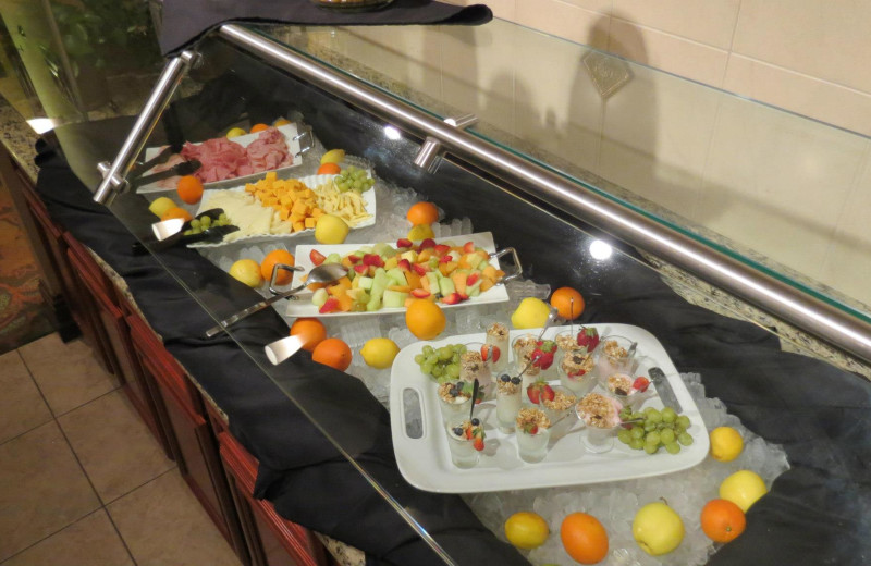 Breakfast buffet at Lake Eve Resort.