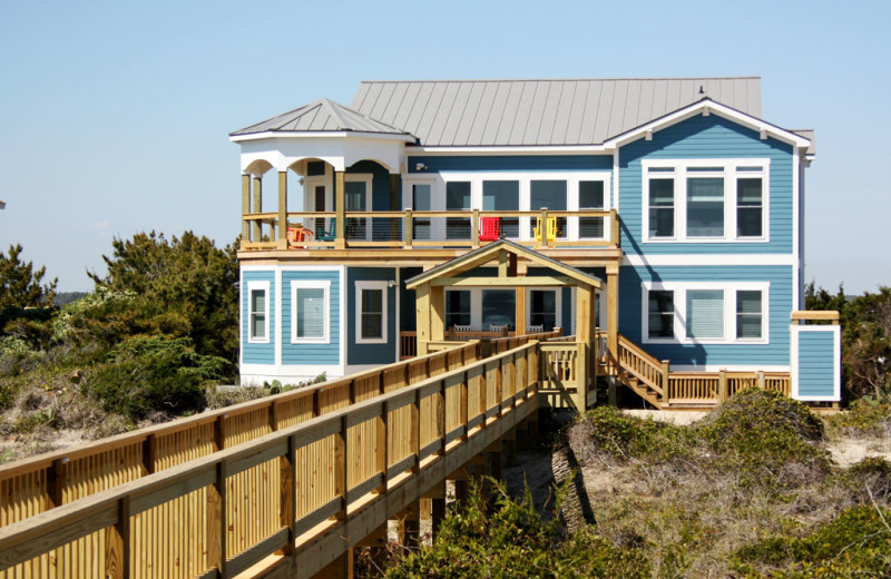 Rental exterior of Oak Island Accomodations.