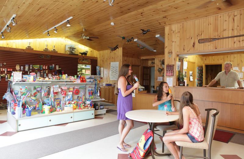 Shop at Southview Cottages Resort.