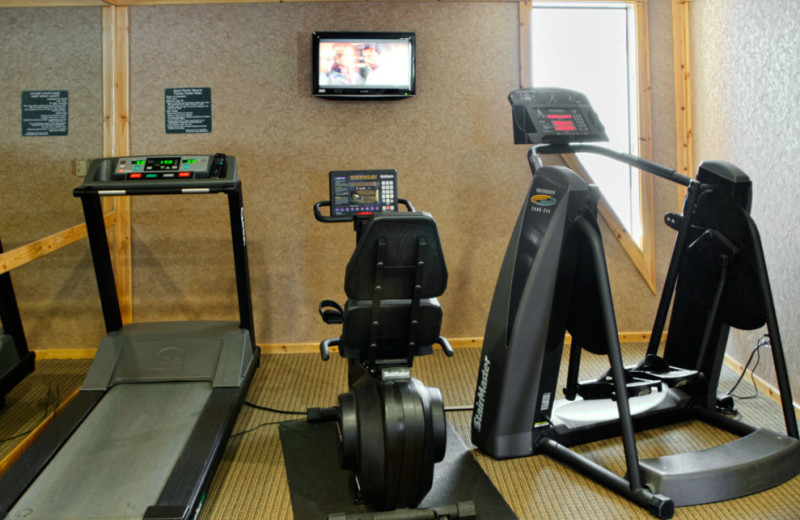 Gym On-Site at the Red Wolf Lodge at Squaw Valley