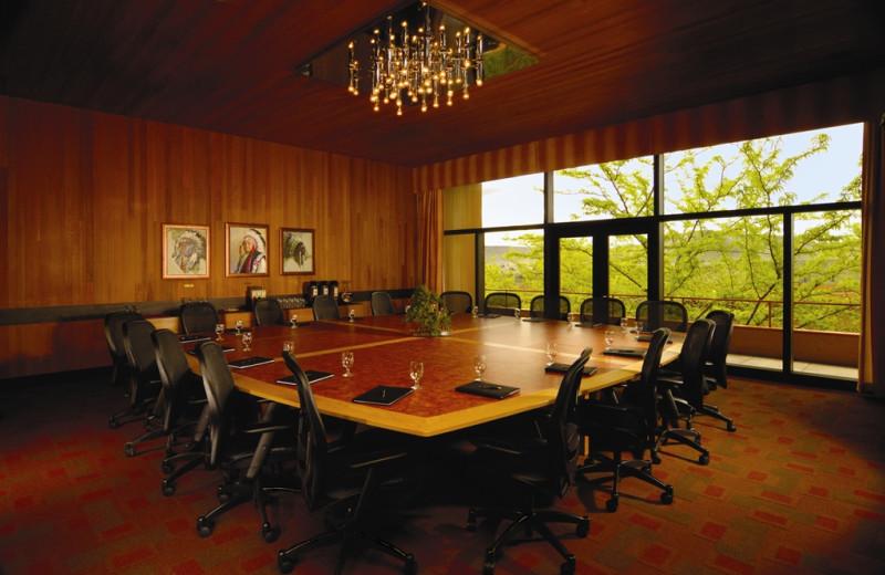 Meeting room at Kah-Nee-Ta Resort and Spa.