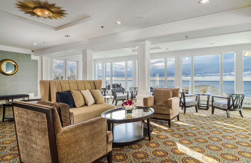 Lounge at Waters Edge Resort and Spa.