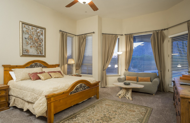 Rental bedroom at Padzu Vacation Homes - Scottdale.