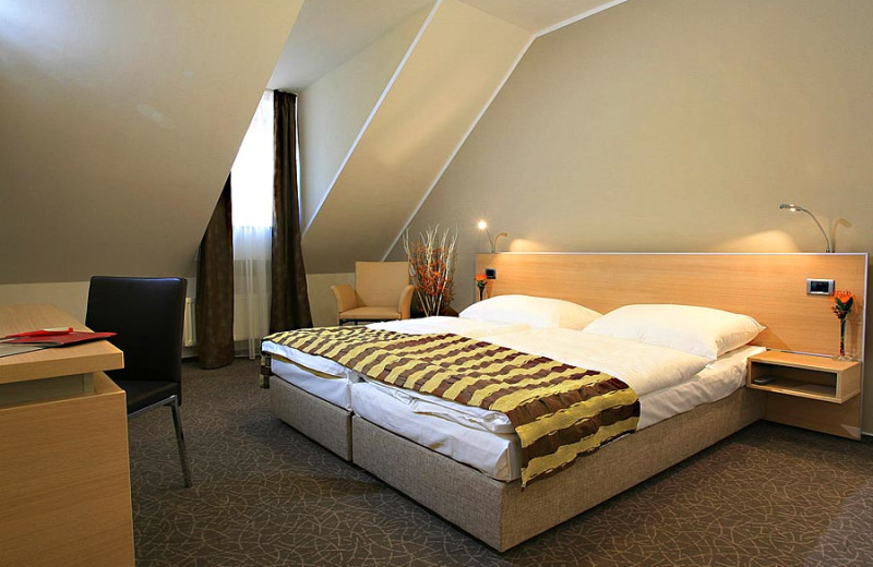Guest room at Aachen House.