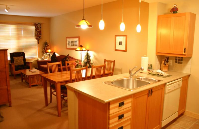 Vacation rental interior at Copper Vacations.
