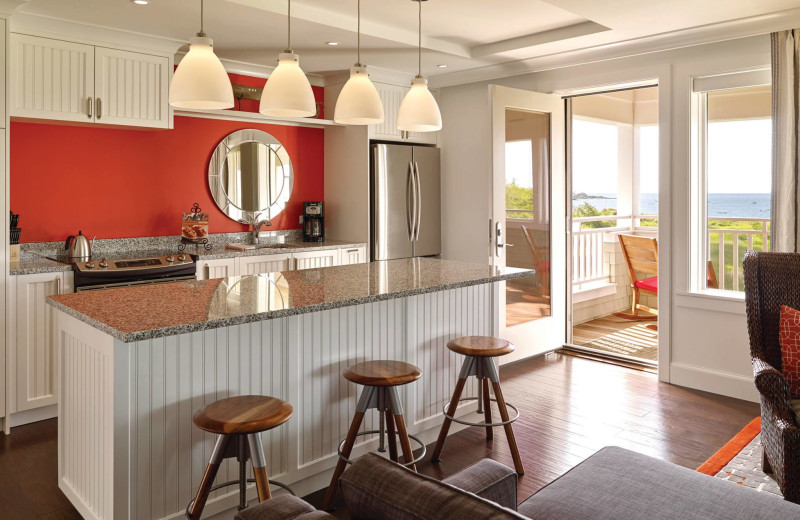 Guest kitchen at Inn by the Sea.