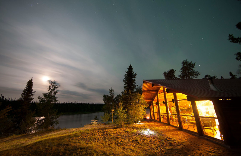 Exterior view of Arctic Lodges.