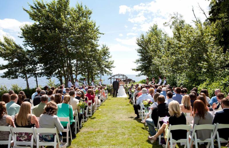 Weddings at Lutsen Resort on Lake Superior.