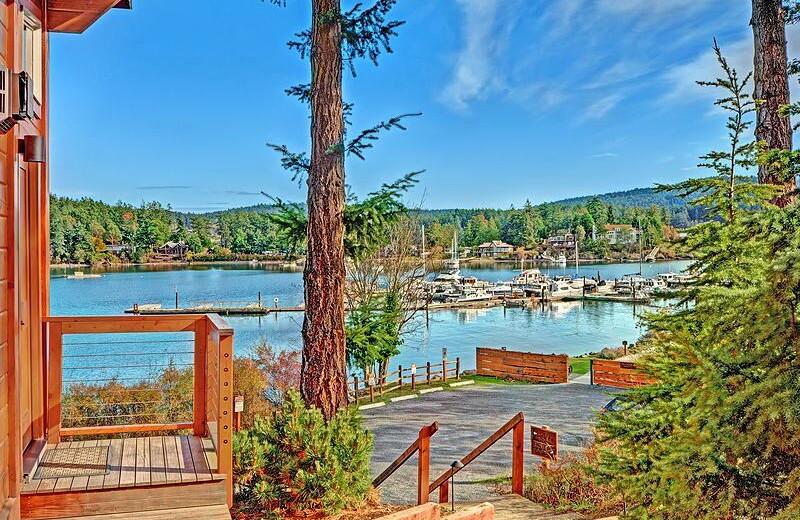 View from Snug Harbor Marina Resort.