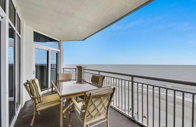 Rental balcony at Condominium Rental Services.