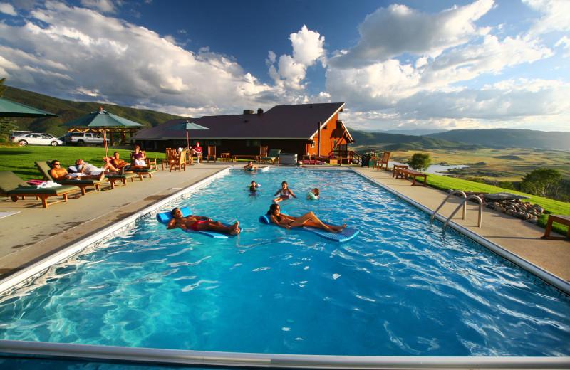 Outdoor pool at Bella Vista Estate.