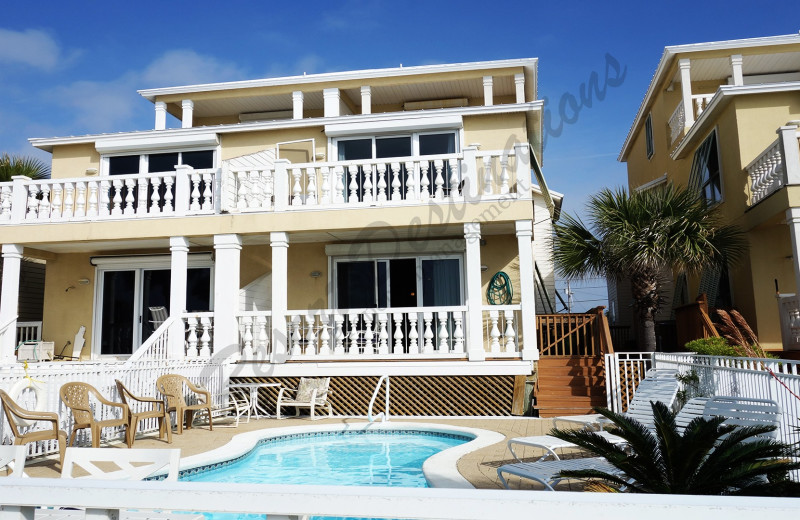 Rental exterior at Resort Destinations.