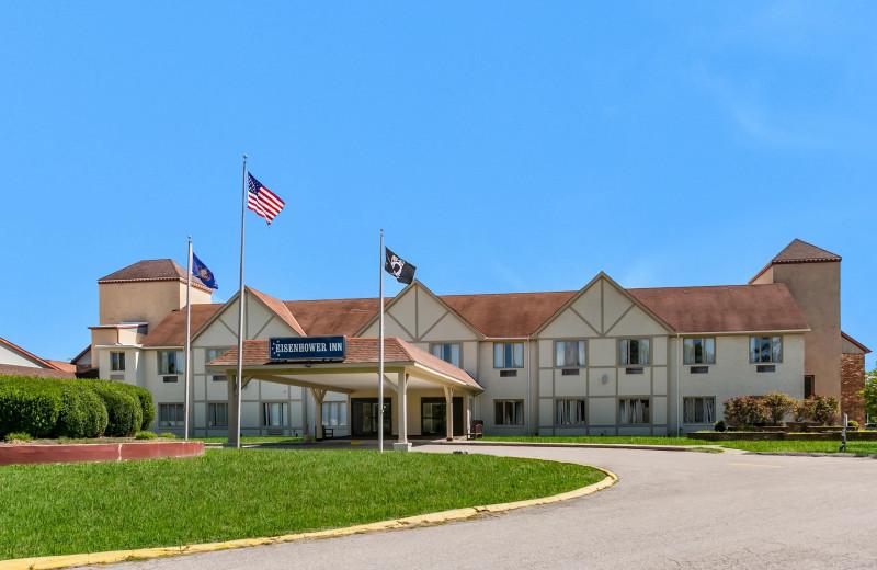 Exterior view of Eisenhower Hotel