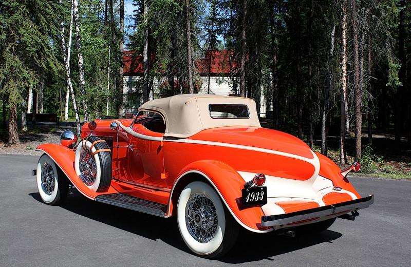 Car at Wedgewood Resort.