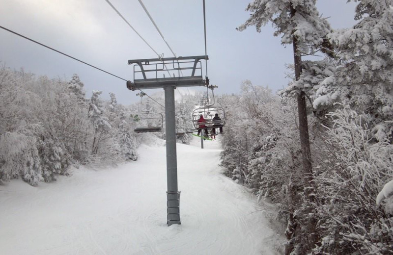 Skiing at Franconia Notch Vacations Rental & Realty.