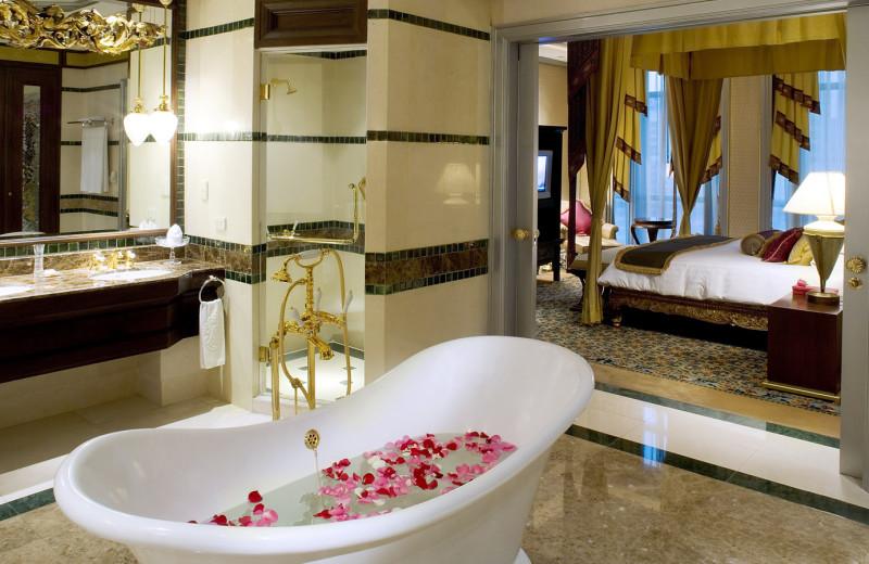 Guest suite at Hôtel Plaza Athénée, Bangkok.