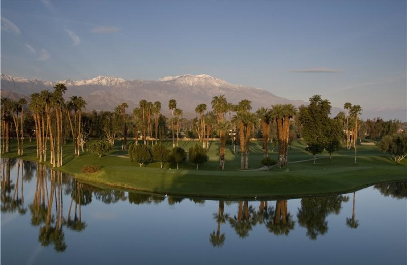 Golf course at Worldmark At Indio.