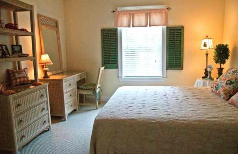 Rental bedroom at Real Escapes Properties.