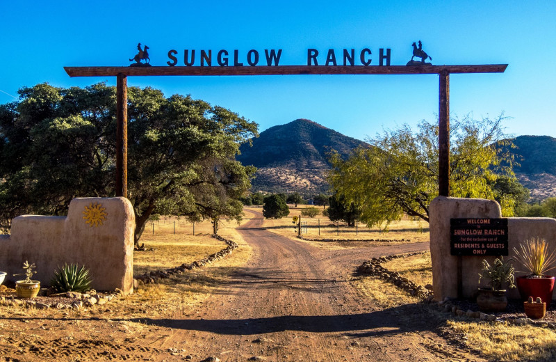 Exterior view of Sunglow Guest Ranch.