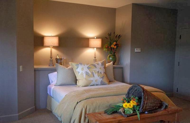 Guest room at Ramekins Bed & Breakfast.