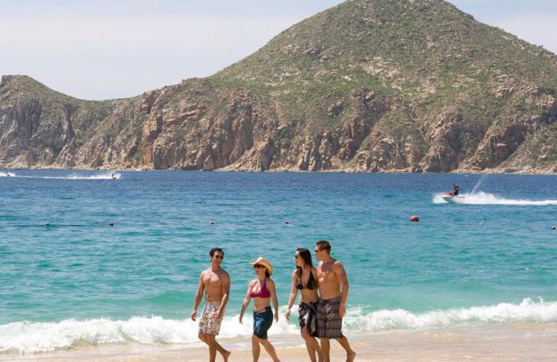 Walk Along the Beach at Pueblo Bonito Los Cabos