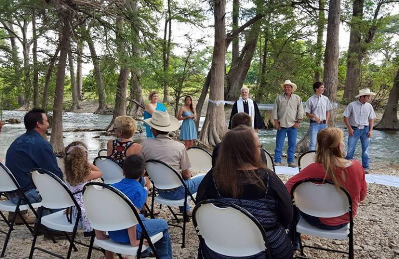 Wedding at Twin Elm Ranch.