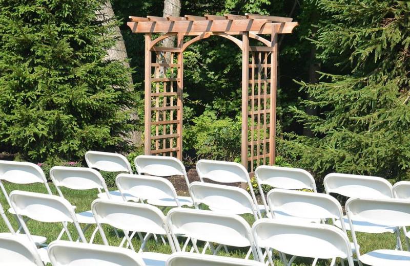 Wedding Ceremony at Westport Inn