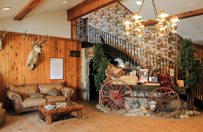 Lobby at Flying L Hill Country Resort & Conference Center.