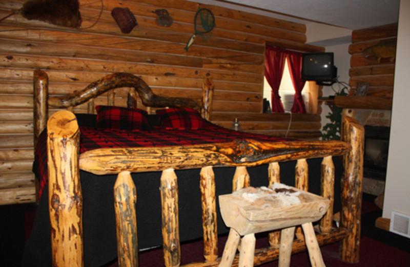 Paul Bunyan Room at The 1887 Hansen House Bed & Breakfast.