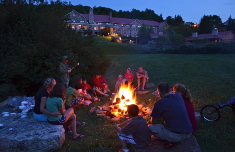 Campfires at Mountain Lake Hotel