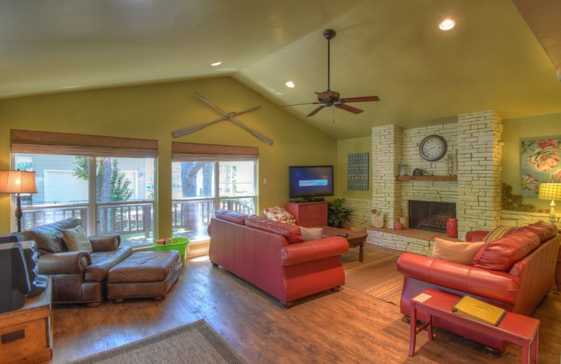 Living room at Summer Cove.