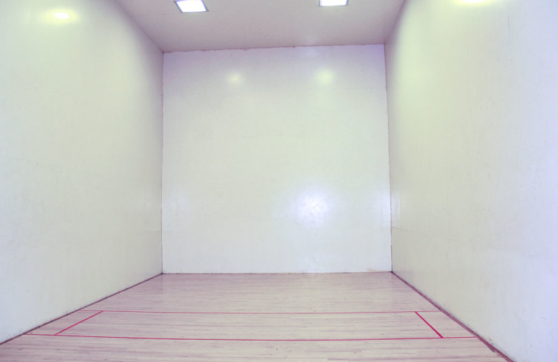 Racquetball Court at the Mountain Retreat