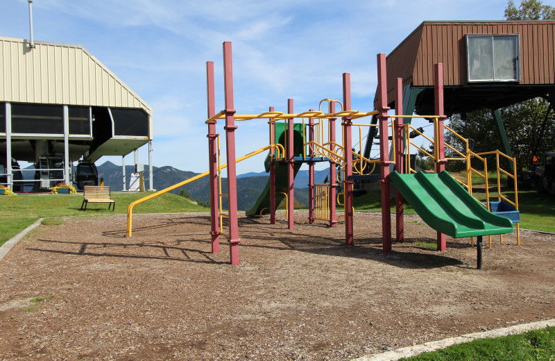 Kids playground at  The Mountain Club.