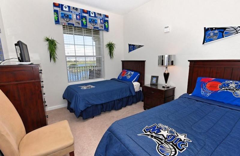 Vacation rental kids bedroom at Vista Cay Inn.