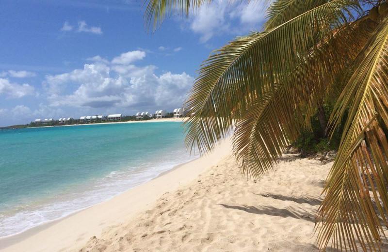 The beach at Anse Margot Hotel.