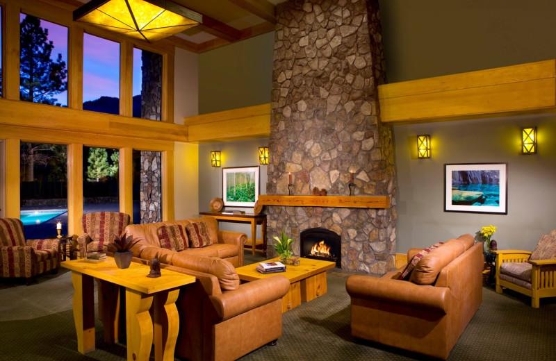 Lobby view at Juniper Springs Resort.