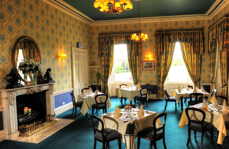 Dining at Dundrum House Hotel Golf and Leisure Club.