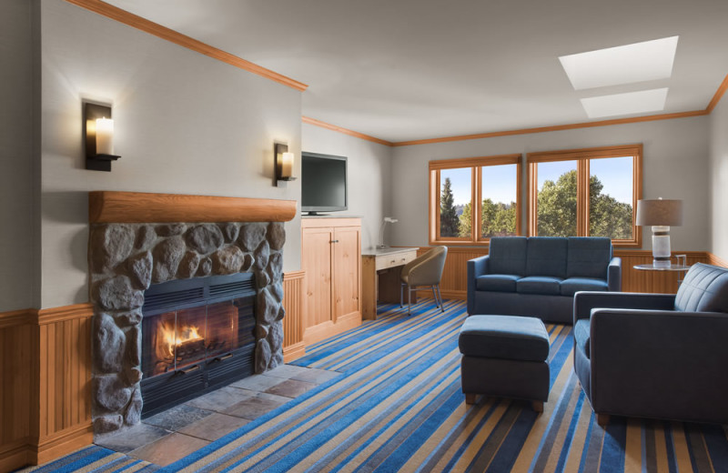 Guest room at Semiahmoo Resort Golf and Spa.
