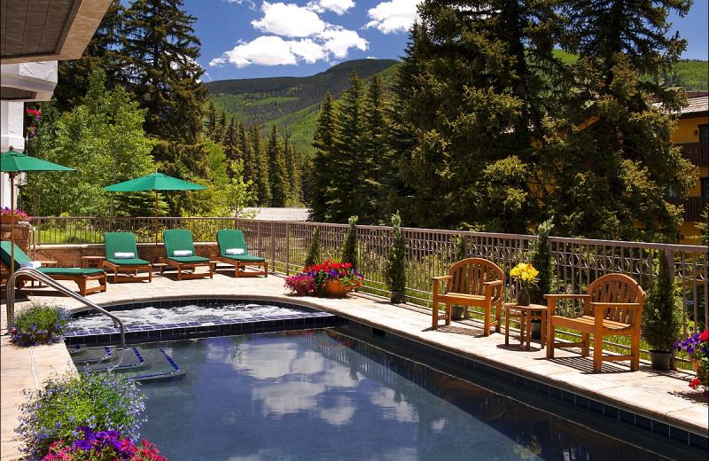 Rental pool at Vail Rentals by Owner.