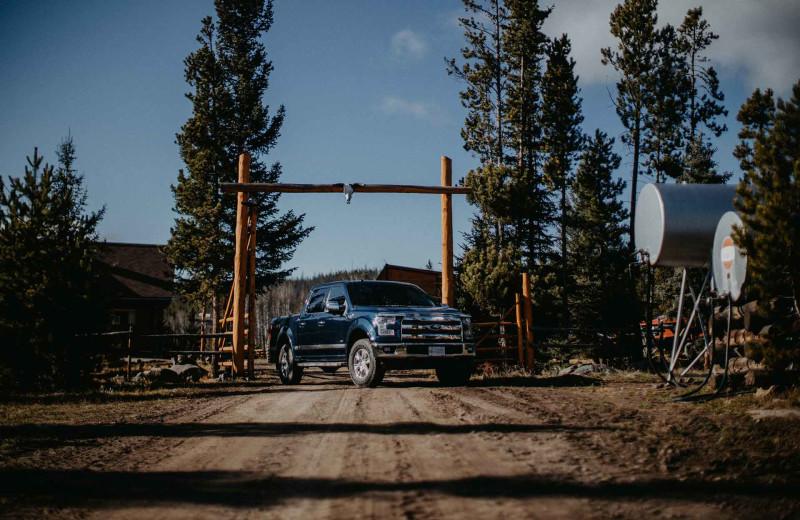 Entrance at Big Creek Lodge.