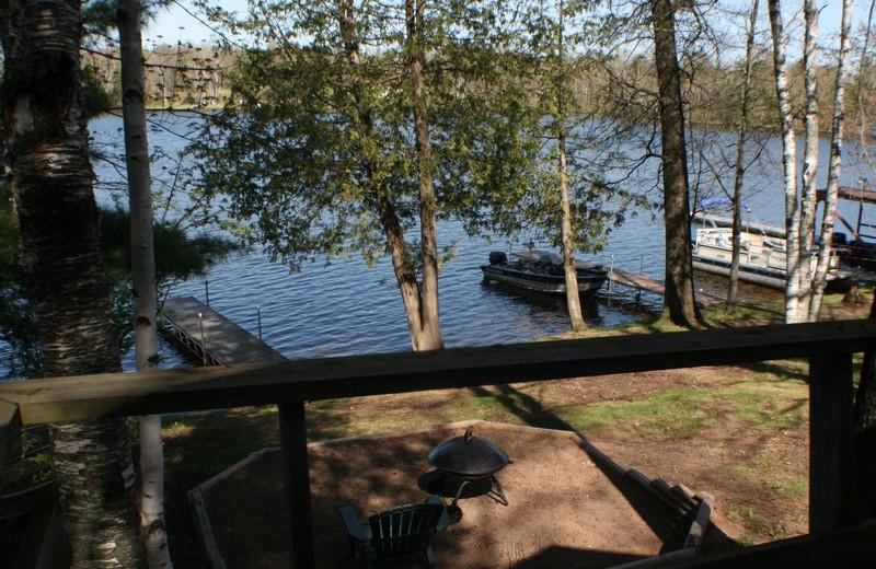 Lake view at Bay Park Resort and Campground.