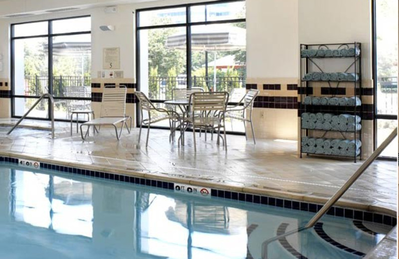 Indoor pool at SpringHill Suites Detroit Southfield.